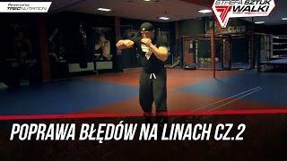 Techniki MMA: Eliminacja błędów przy pomocy linki cz.2   Maciej Brzostek