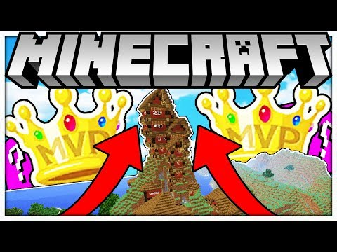 BRAND NEW MINECRAFT MODDED KING OF THE HILL w PINK LUCKY BLOCKS MOD