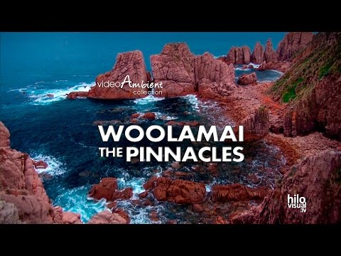 Dazzling Landscapes of Cape Woolamai and The Pinnacles. Wild scenery, Birds, Waves, Rocks, Nature