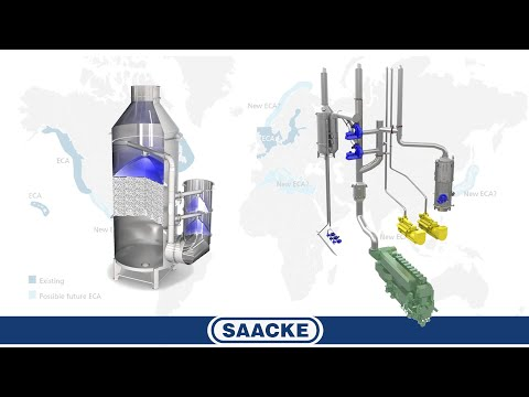 Saacke Scrubber System (EGCS-HM Exhaust Gas Cleaning System)