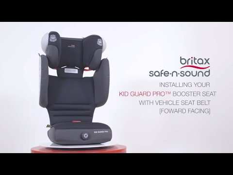 Britax Safe-n-Sound Kid Guard PRO™ Instructions and Installation