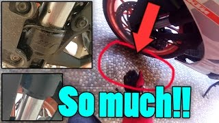 It's leaking so much oil!! | Shock Leakage | Special Guest Appearance thumbnail