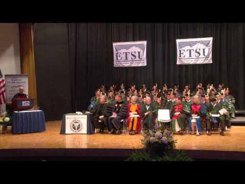 Quillen College of Medicine Graduation - Spring 2014