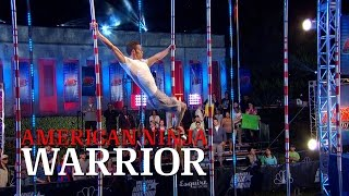 Jeremy Morgan at the 2014 Dallas Finals | American Ninja Warrior