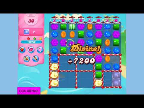 Candy Crush Saga Level 3282 NO BOOSTERS Cookie