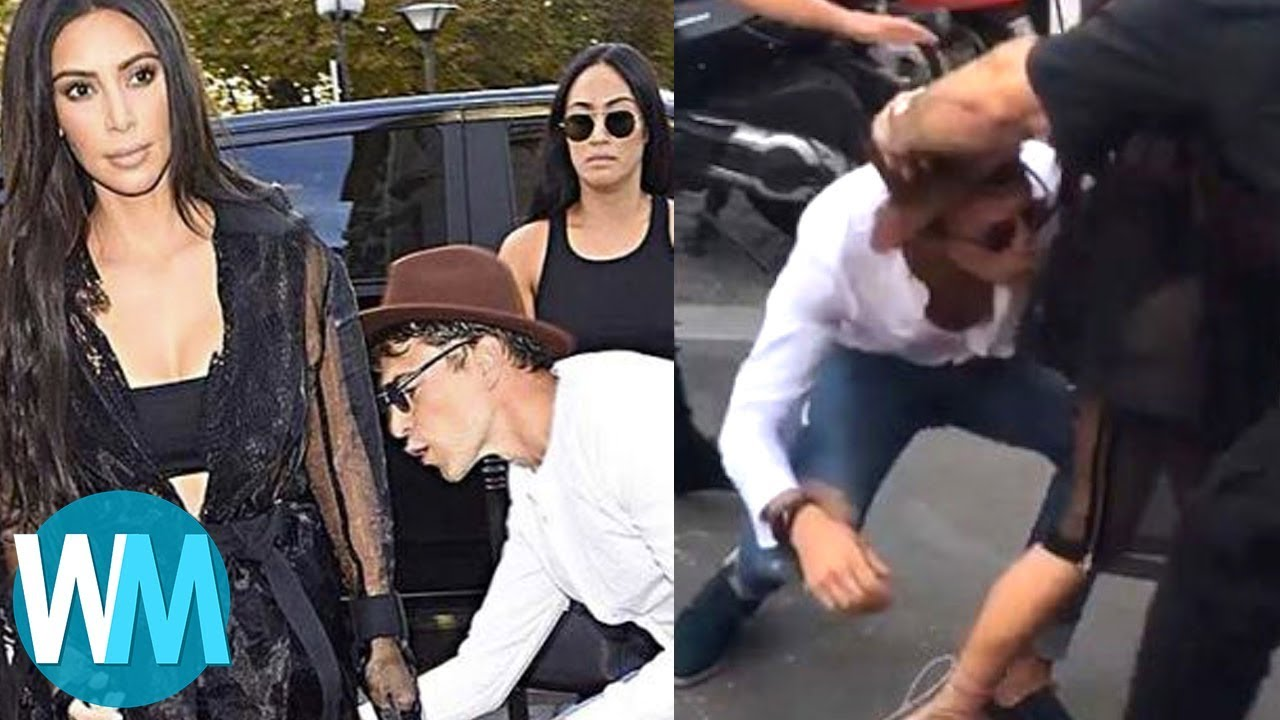 TOP 10 des CHOSES HORRIBLES commises par les PAPARAZZI !