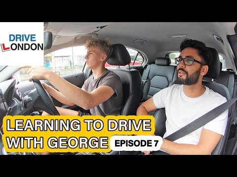 Learning to drive with George EPISODE 7 – Independent driving & Bay Parking – UK Driving test