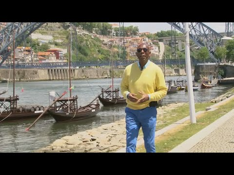 GlobeTrotter Jon Haggins TV in Porto, Portugal