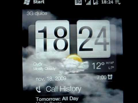 HTC Touch Diamond2 (Topaz) with Official WinMo 6.5 ROM