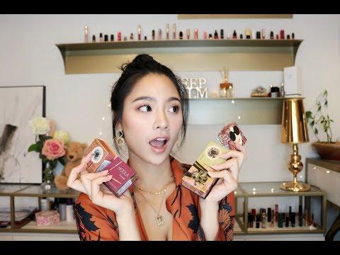 十年愛如一日!Benefit 五款明星腮紅蜜粉盒妝容分享~評比+必買款推薦!Jessica Lin
