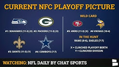 NFL Playoff Picture: NFC & AFC Clinching Scenarios & Standings Entering Week 16 Of 2019 NFL Season