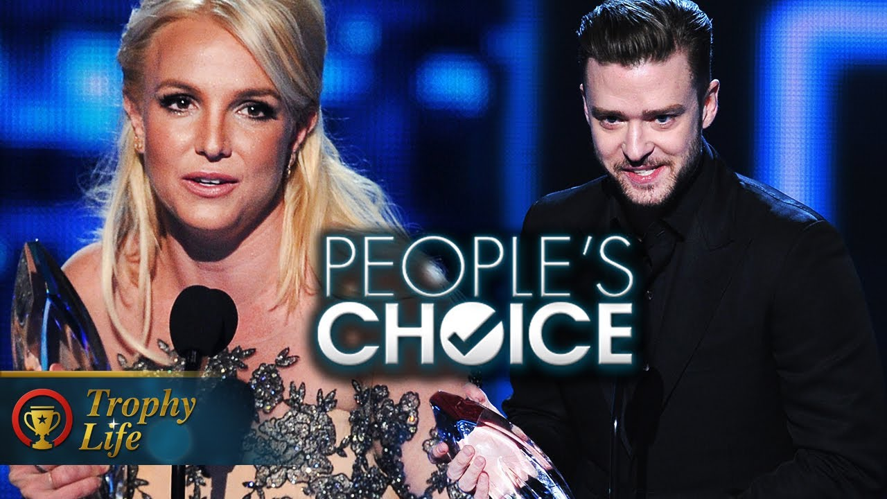 Britney Spears & Justin Timberlake Win Big 2014 People's