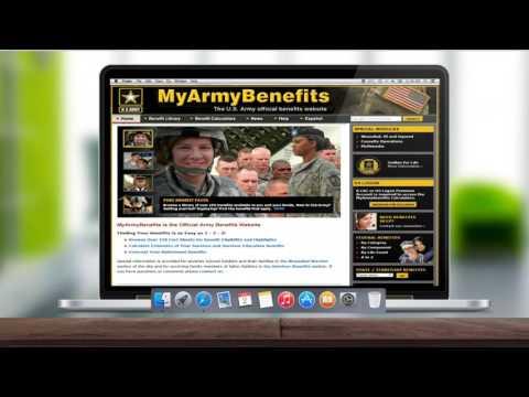 MyArmyBenefits Introduction
