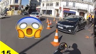 Zapping Moto #15 - CIVIC 1 - SCOOTER 0 😲😲😲