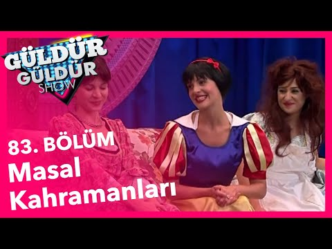 Güldür Güldür Show 83. Bölüm, Masal Kahramanları Skeci