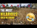 The MOST HILARIOUS ENDING! | Solo VS Squad | PUBG Mobile Funny Moments!