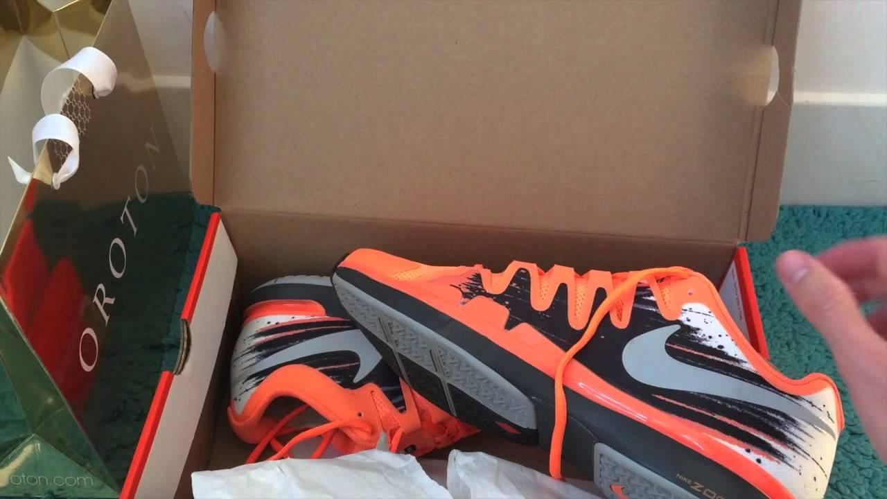 f17f5ca8ba63 Nike Zoom Vapor 9.5 Tour Atomic Orange Shoes - YouTube