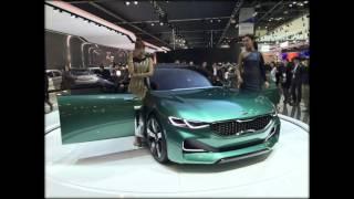 На Автосалоне В Сеуле Был Представлен Концептуальный Автомобиль Kia Novo