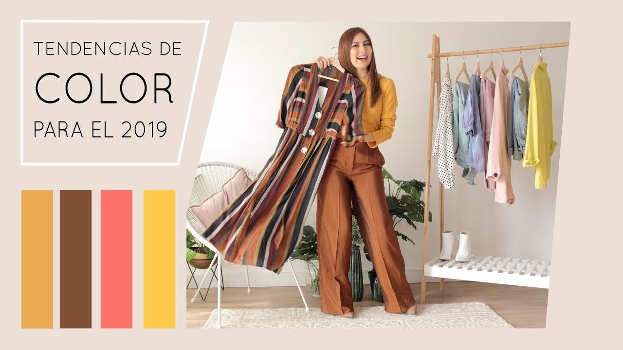 Colores tendencia para el verano 2019 youtube for Tendencia de color de moda
