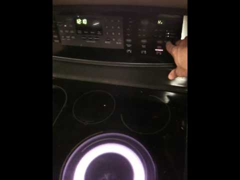 Kenmore Elite Smooth Top Stove Recall Youtube