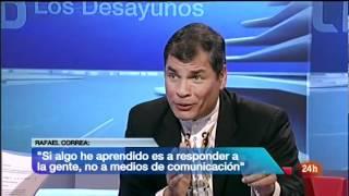Rafael Correa vapulea a Ana Pastor