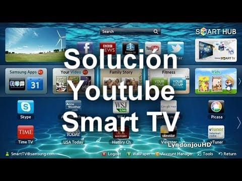Solución Cómo Ver Youtube En Samsung Smart Tv 2018