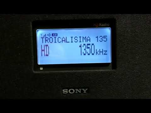 MW AM HD Radio XEQK-AM 1350 kHz Mexico City