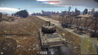 (War Thunder) RB Tanks grinding Silver yaay maybe W/friends & subs enjoy hurricane Rosa still around