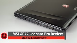 MSI GP72 Leopard Pro Review