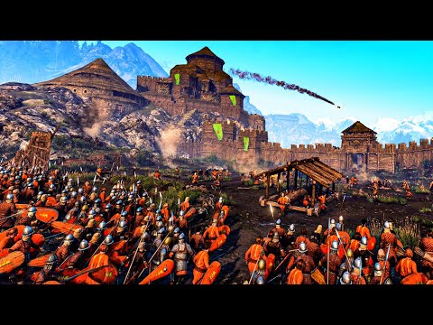 The MOST EPIC Castle Siege Battles Ever - Welcome To Bannerlord - Mount And Blade 2 Gameplay
