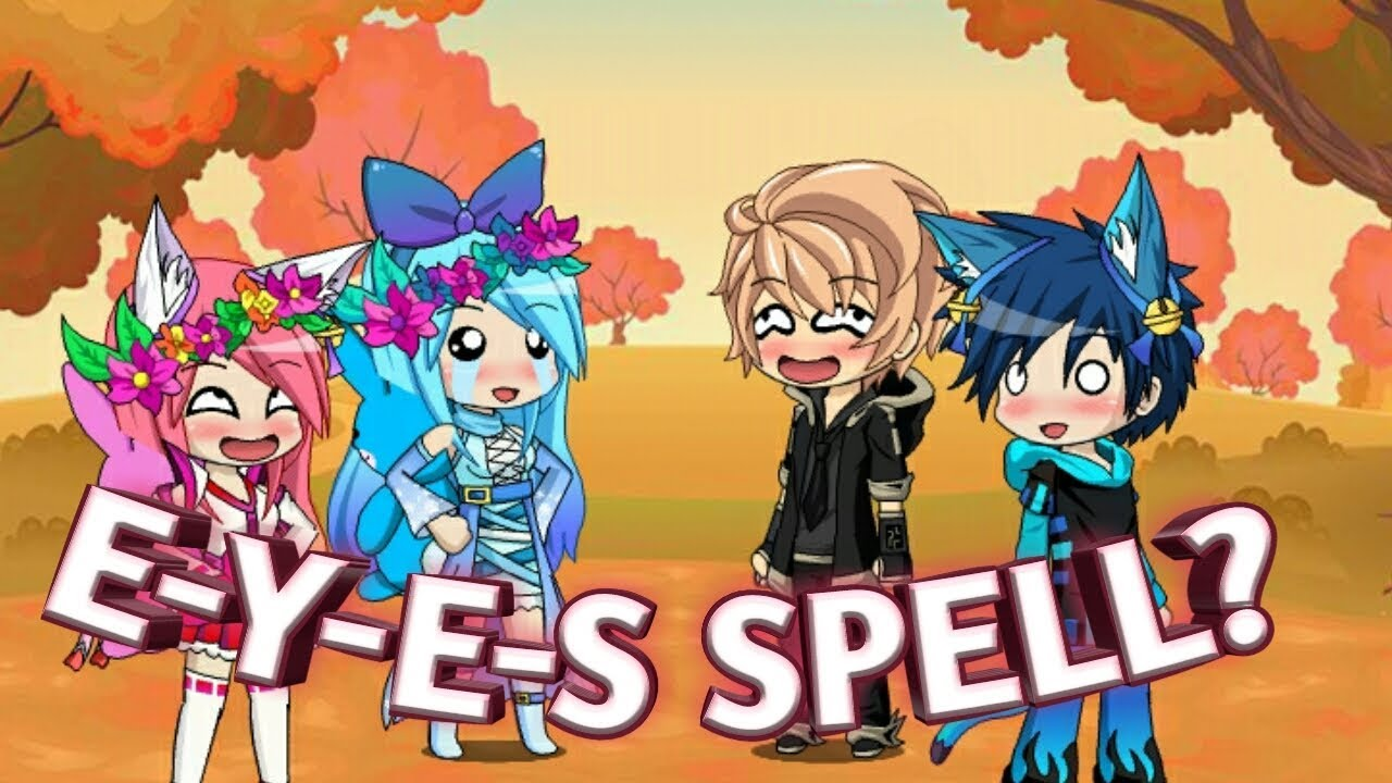 `What does E-Y-E-S spell` | Gacha Studious by Ch3rry