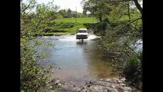 Off Roading Pajero Shogun Cross Stream 4x4 April 2011