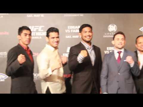 Edgar vs. Faber first staredown in Manila