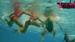 Underwater Camera Women's Water polo - Australia vs Spain