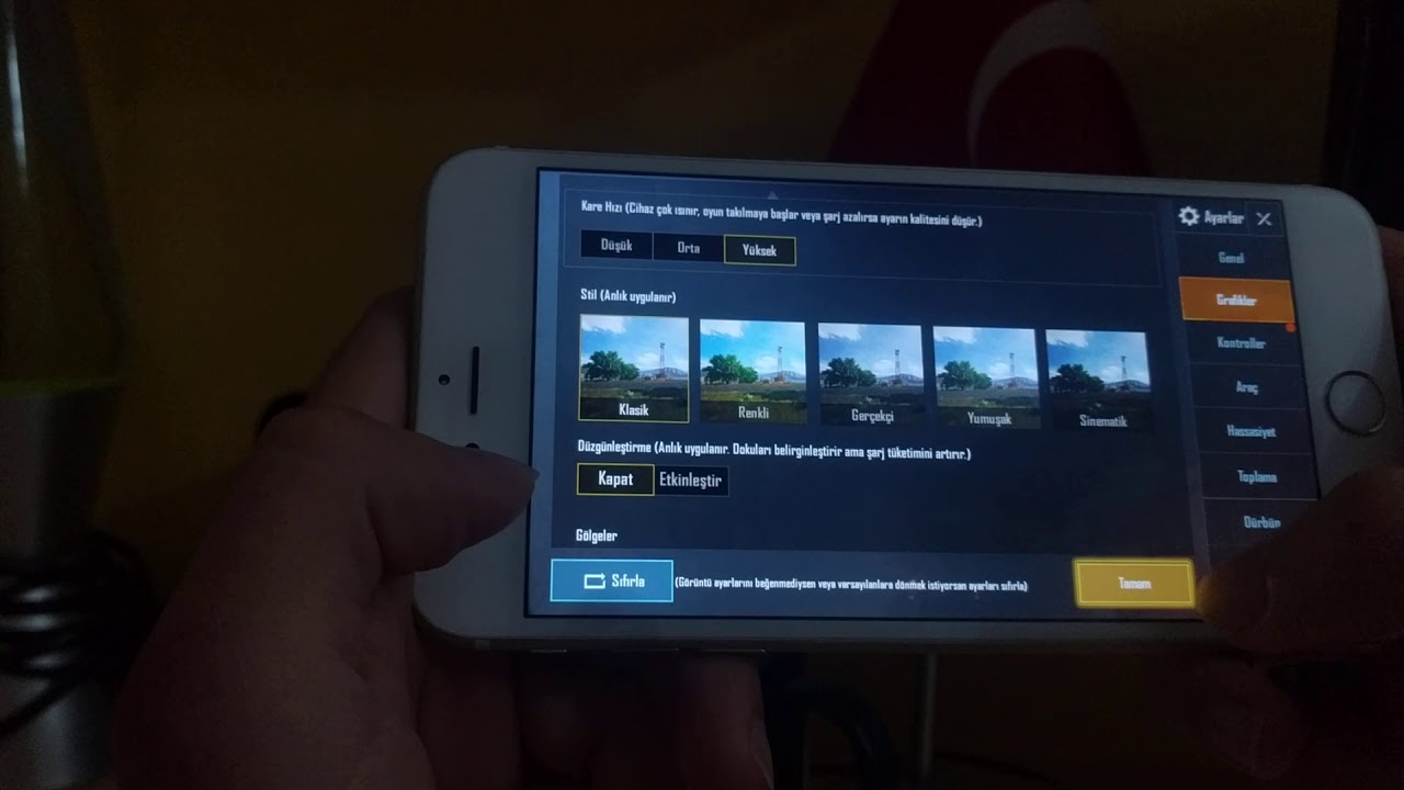 iPhone 6S Plus Pubg Mobile Performans Testi