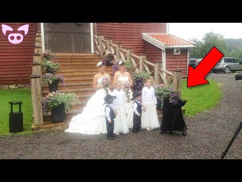 Creepy Wedding Photos That Can't Be Explained