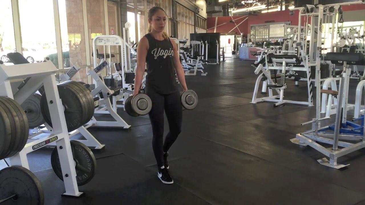 split stance romanian deadlift