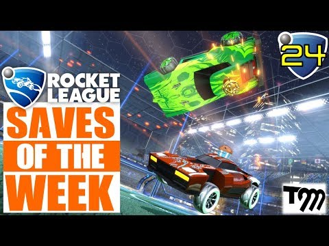 Rocket League - TOP 10 SAVES OF THE WEEK #24 (Rocket League Highlights) thumbnail