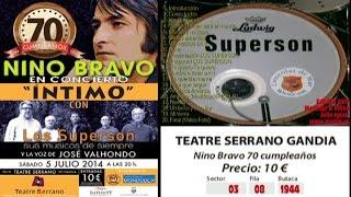 Nino Bravo en Concierto INTIMO con Los Superson - Completo Sound Digital