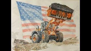 "HITACHI Wheel Loaders, ""Coming to America"""