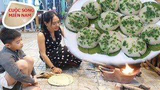 Món ngon ngày tết 2020: Làm bánh ít trần nhân dừa (mùa khoai mì) #namviet
