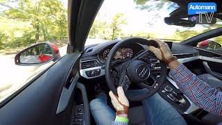 2016 Audi A4 Avant 2.0 Tfsi (252hp) - Handling Drive (60fps)