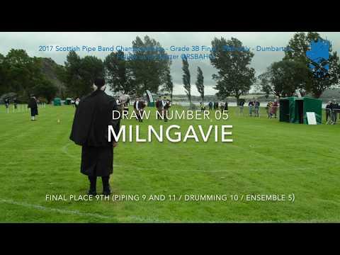 05 Milngavie   2017 Grade 3B Scottish Pipe Band Championships