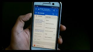 Google Activity Tracking on Android - My Activity - Location History Free HD Video