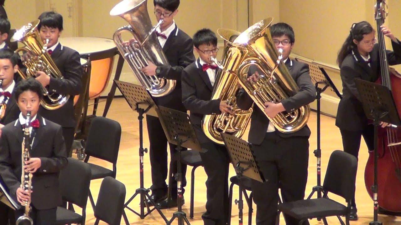 104學年嘉義市學生音樂比賽自選曲-北興國中管樂團 - YouTube