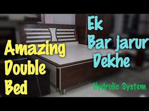 King Size Bed(with storage)| Double bed DIY | Amazing bed|| HOME FURNISHING|| in hisar haryana