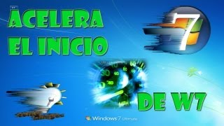 Tutorial: Acelerar el Arranque de Windows 7 [100% Efectivo] [2015]