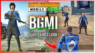 BATTLEGROUNDS MOBILE INDIA PRE-REGISTER OUTFIT EXCLUSIVE FIRST LOOK