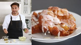 Hot and Crisp Apple Fritters - Kitchen Conundrums with Thomas Joseph