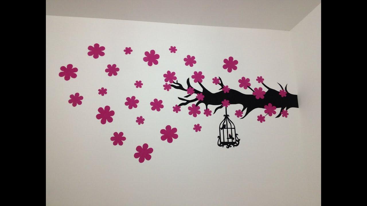 Papel de parede com camurça  DIY  YouTube